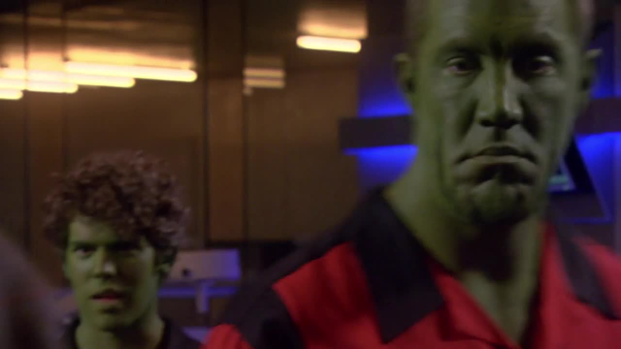 Eureka S03E12 It's Not Easy Being Green